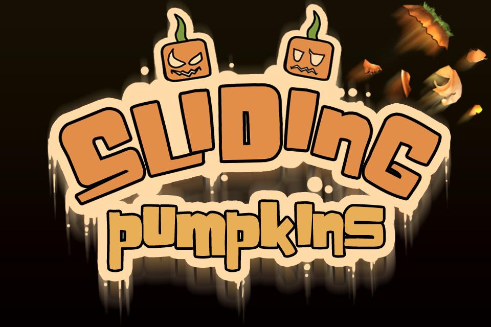 Screenshot Sliding Pumpkins