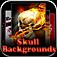 Skull & Halloween Bac...